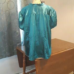 Lane Bryant Tops - Lane Bryant 26/28 Silky dress blouse